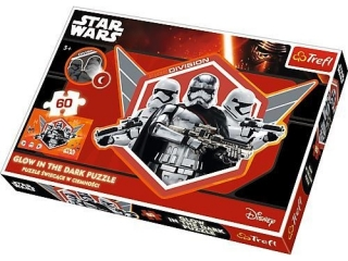 "Puzzle ""60 Glow in the Dark Kapitan Phasma i szturmowcy"" / L"