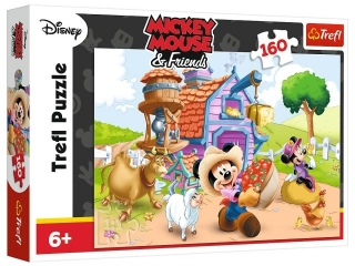 "Puzzle ""160 Farmer Miki"" / Disney Standard Characters"