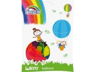 "BALON 10"" NEON MIX Fiorello (SZ)"