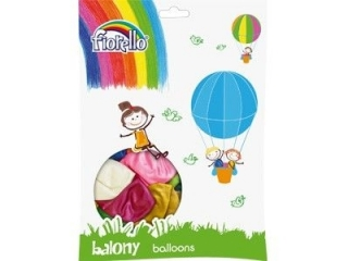 "BALON 12"" MIX METAL Fiorello (SZ)"