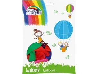 "BALON 12"" MIX PASTEL Fiorello (SZ)"